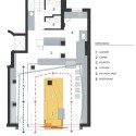 Get & Go Restaurant - Andres Remy Arquitectos lower floor plan