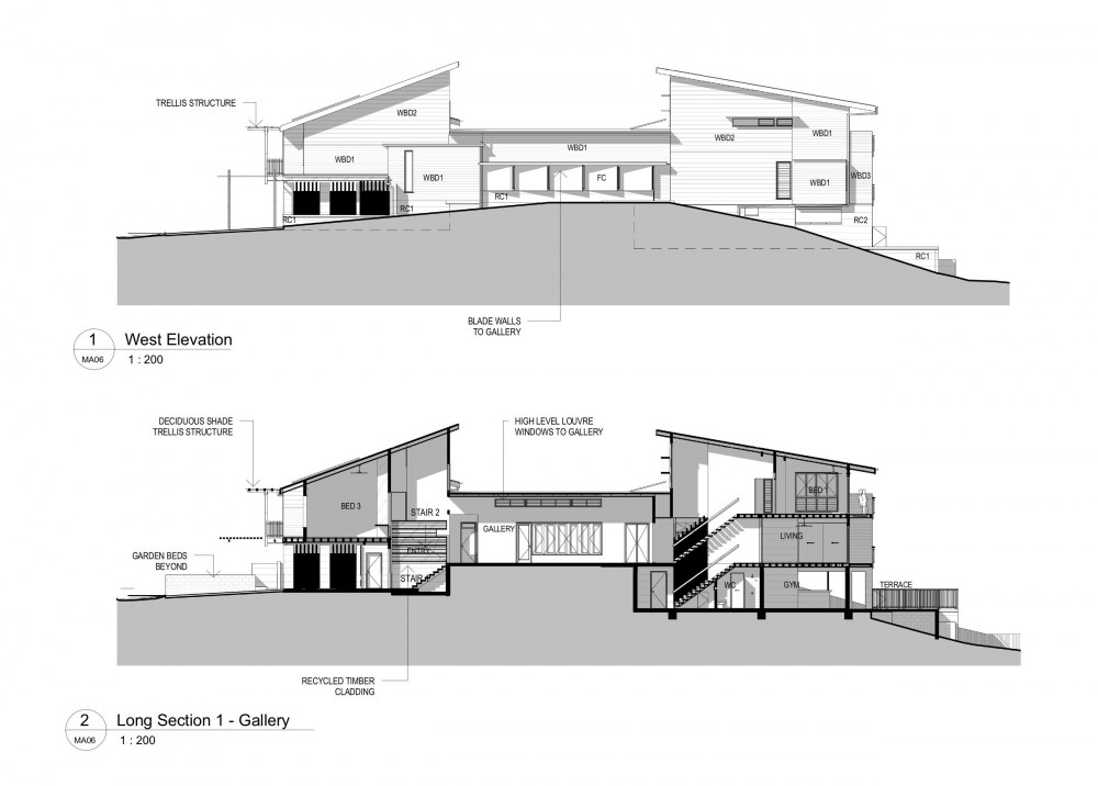 Section Elevation Plan View : Elevations architecture joy studio design gallery best