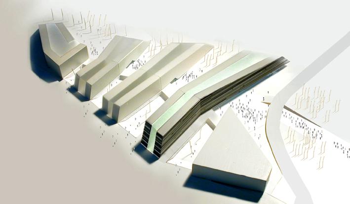 Mechatronik - Caramel Architekten model