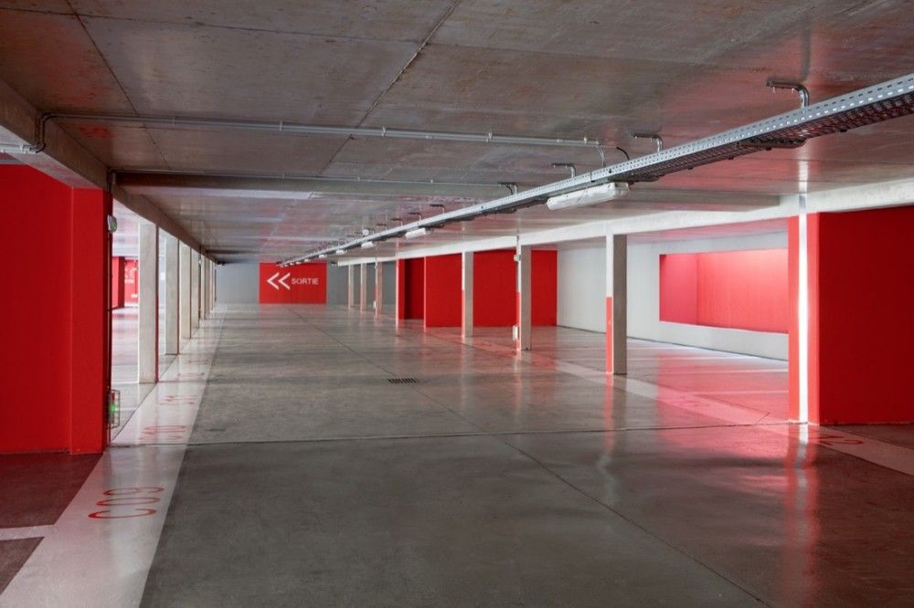 Carros Parking Lot & Urban Planning / N+B Architectes