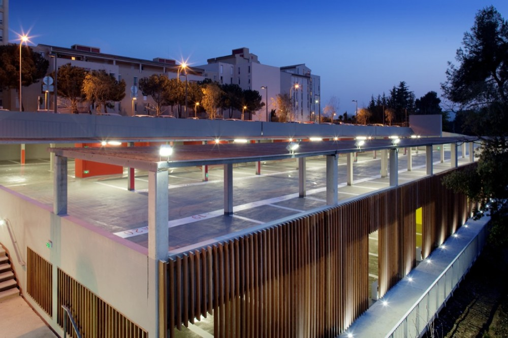 Carros Parking Lot &#038; Urban Planning / N+B Architectes