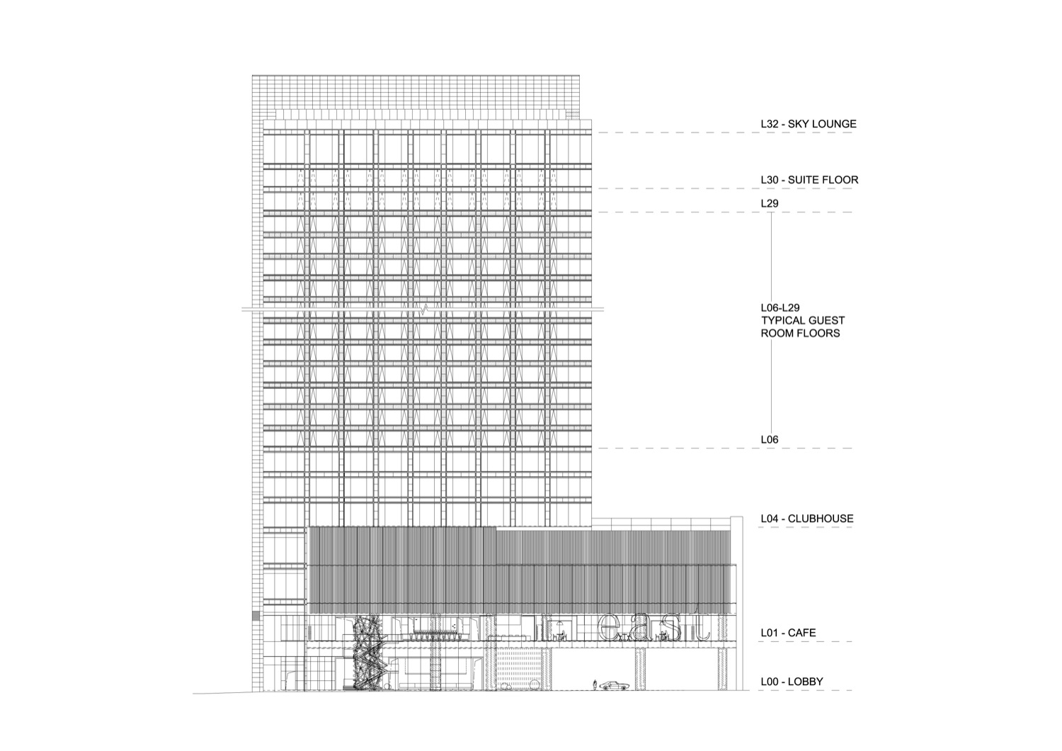 Front Elevation App : Architecture photography east hotel cl architects