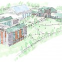 BAC Doering Center - Spillman Farmer Architects sketch 02
