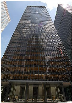 AD Classics Seagram Building Mies Van Der Rohe ArchDaily