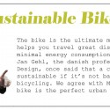3 Sustainable Bike 3 Sustainable Bike