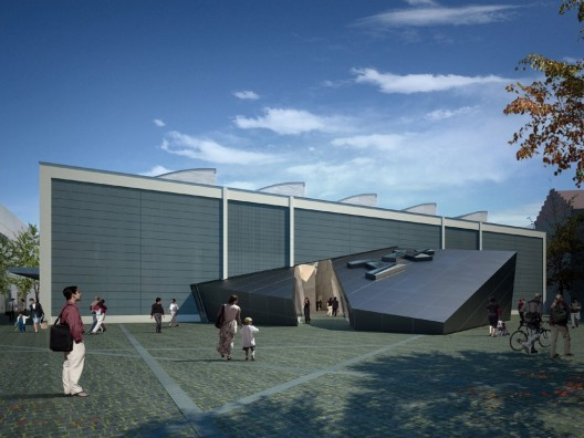 © Courtesy of Daniel Libeskind - Rendering by bromsky