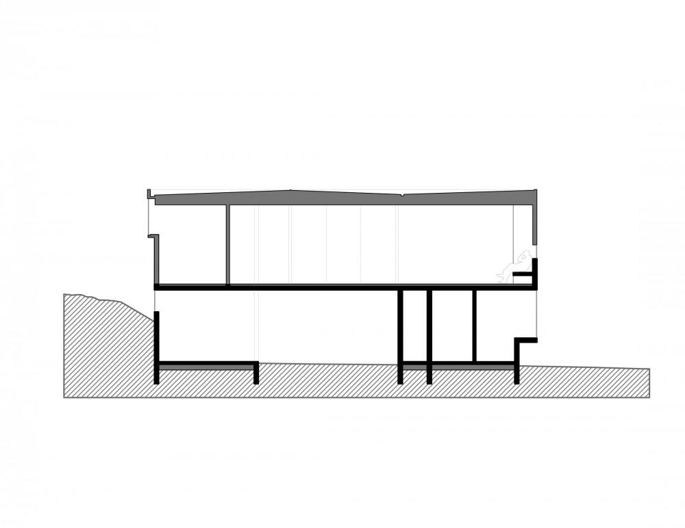 Los Molles House - Oltmann Ahlers W. - Oltmann Ahlers G. - dRN Arquitectos section E