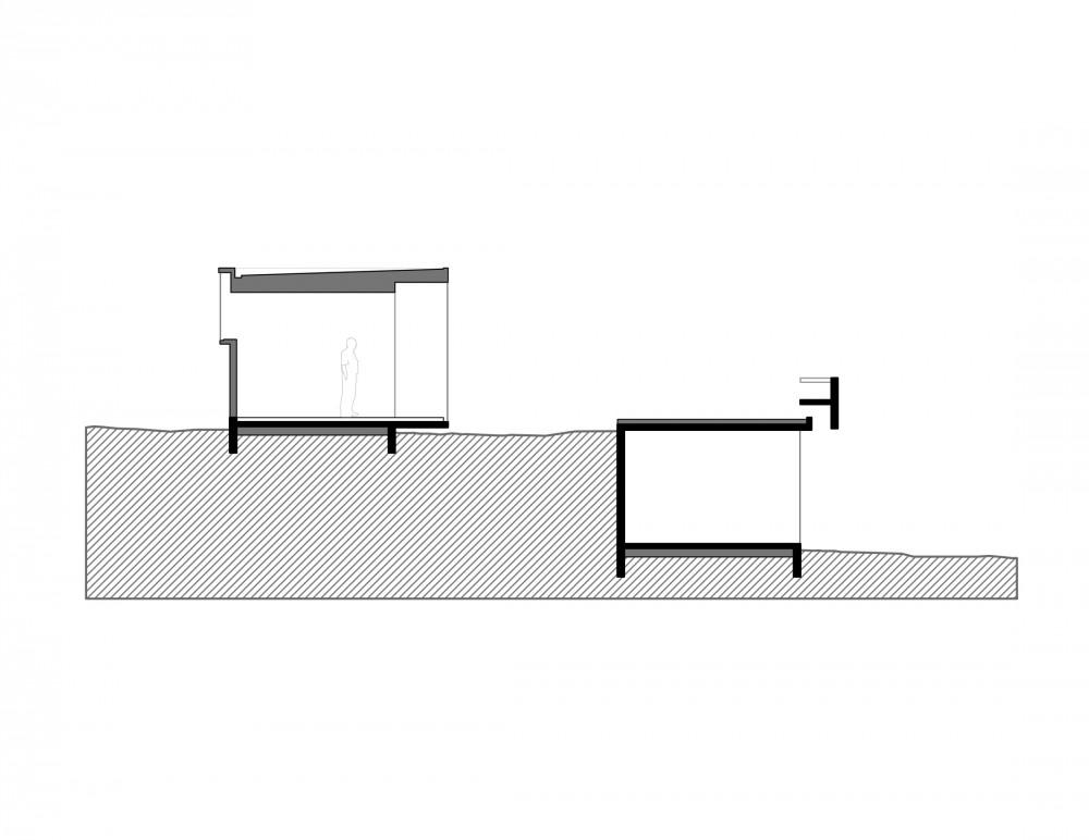 Los Molles House - Oltmann Ahlers W. - Oltmann Ahlers G. - dRN Arquitectos section H