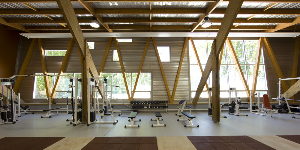 Gymnase CREPS / Laurens &#038; Loustau Architectes