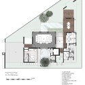 House - Jalan Merlimau - Aamer Architects first floor plan