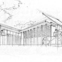 House - Jalan Merlimau - Aamer Architects sketch