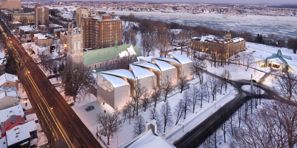 Musée National des Beaux Arts du Québec proposal / Allied Works Architecture