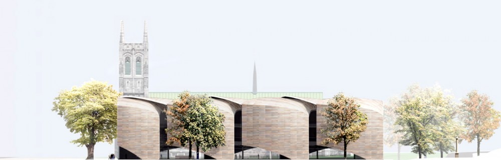 Muse National des Beaux Arts du Qubec proposal / Allied Works Architecture