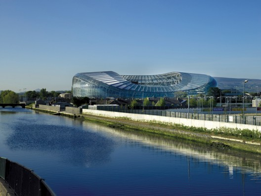 Aviva Stadium opened Friday in Dublin