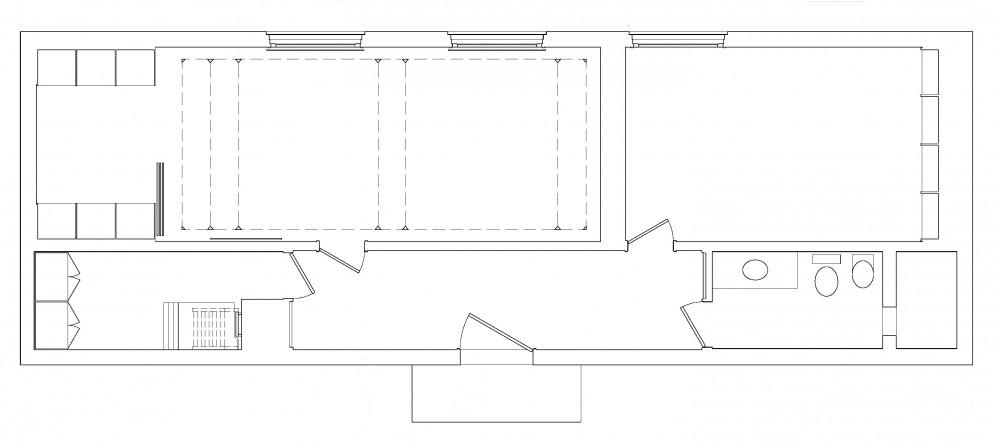 brick_house Brick Guest House Plan