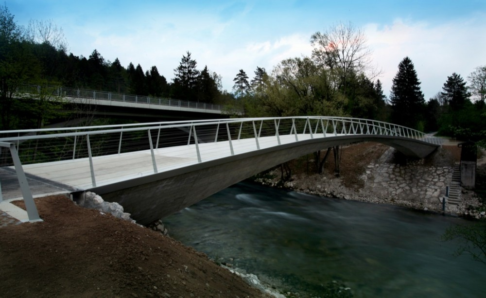 Sava footbridge peter gabrijelčič peter koren svetlejsa brv