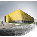 Gymnase INP - Laurens &amp; Loustau Architectes Sketch 02