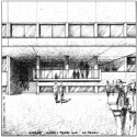 Lyce de Bagatelle - Laurens &amp; Loustau Architectes Sketch
