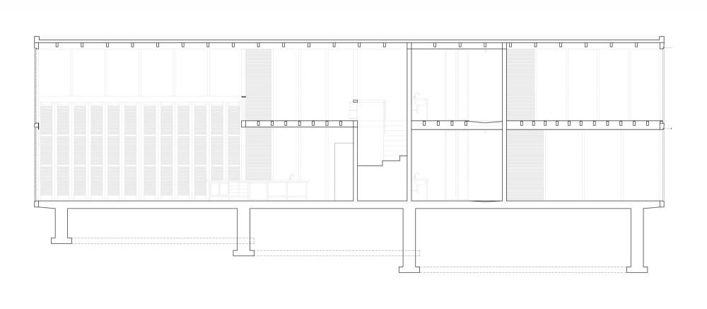 Palmyra House - Studio Mumbai section