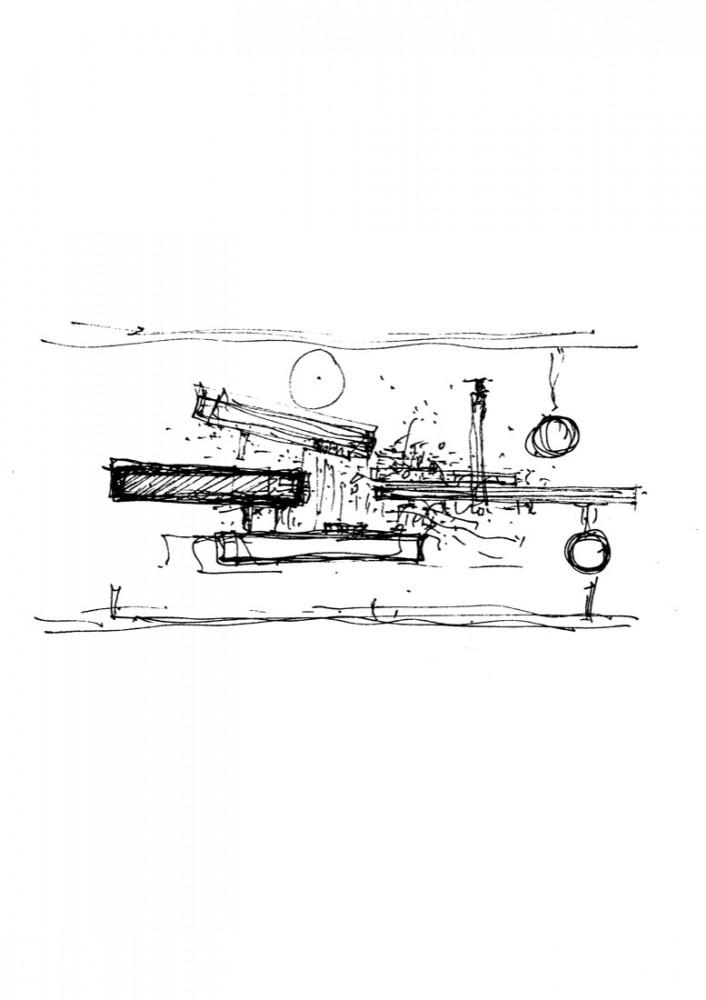 Palmyra House - Studio Mumbai sketch 01
