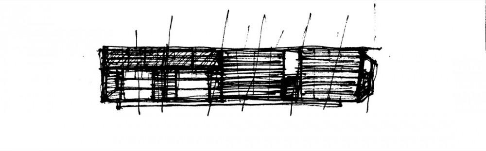 Palmyra House - Studio Mumbai sketch 02
