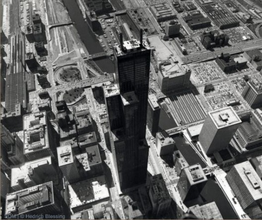 برج ،برج سیزر ، شیکاگو ، گرگ لین ، معماری فولدینگ