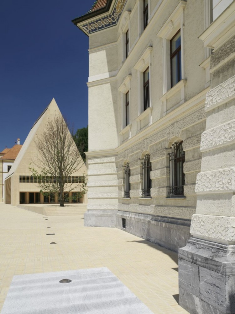 National Parliament Principality of Liechtenstein / Hansjoerg Goeritz Architekturstudio