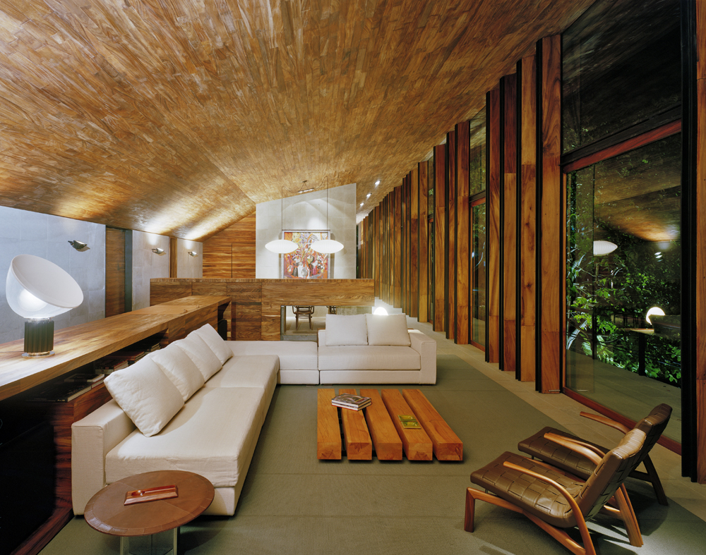 House in the Woods - Parque Humano © Paul Rivera, ArchPhoto