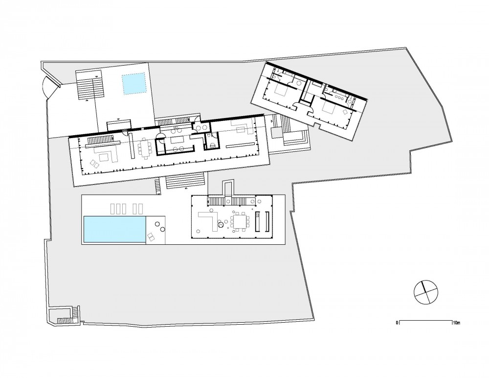 House in the Woods - Parque Humano floor plan
