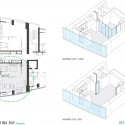 Housing - Sail @ Marina Bay - NBBJ apartment interior plan & axo