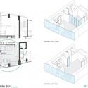 apartment interior plan & axo
