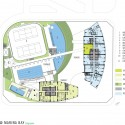 Housing - Sail @ Marina Bay - NBBJ club level plan