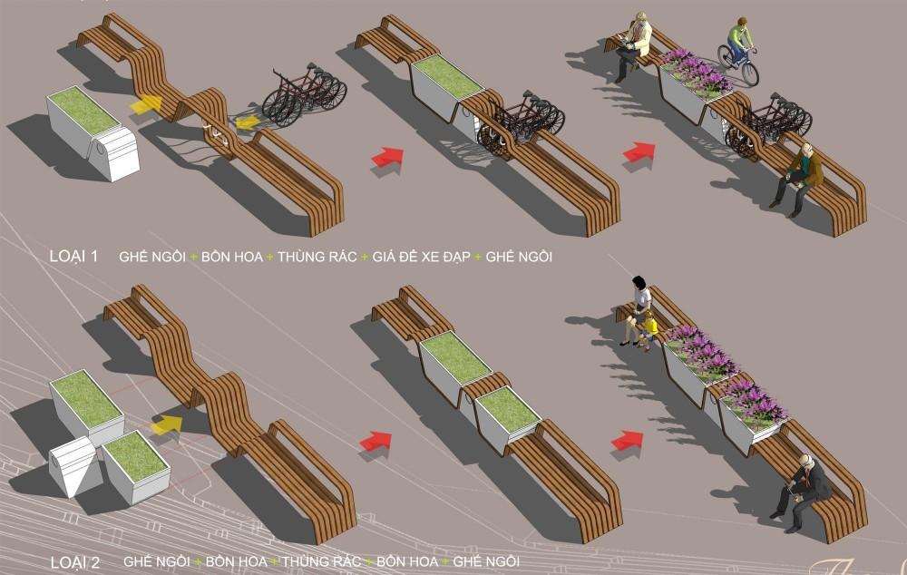 Architecture graphy 12 Street Furniture Custom