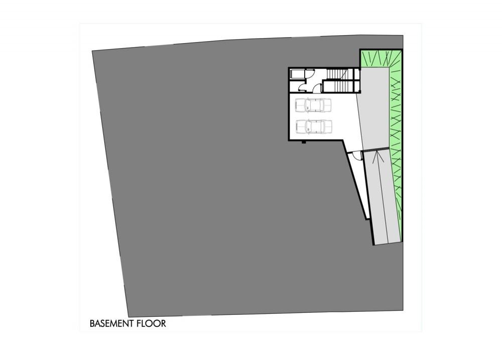 House - Casa GB - MMEB Architects basement floor plan