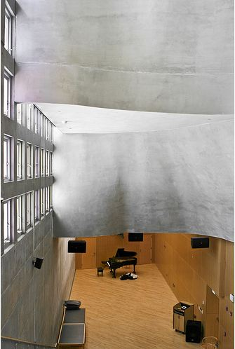 Simmons Hall at MIT/ Steven Holl