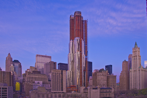 In Progress: Beekman Tower / Frank Gehry