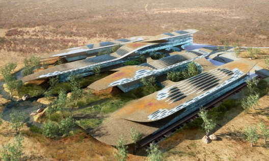 Botswana Innovation Hub / SHoP Architects