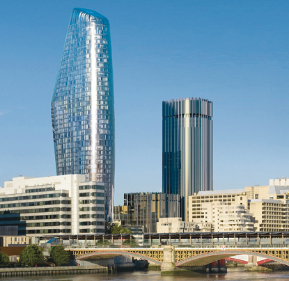 Ian Simpson Architects' Beetham Towers