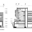 Commercial-Office Building section and elevation