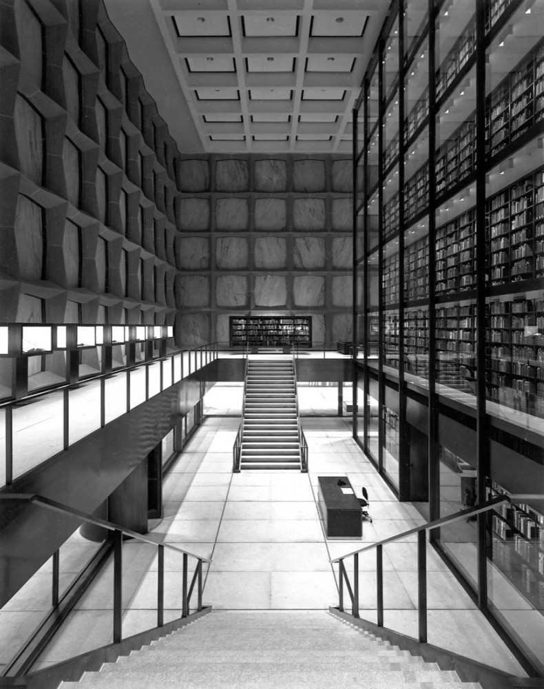 AD Classics: Beinecke Rare Book and Manuscript Library / Skidmore, Owings, & Merrill