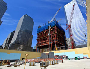 One World Trade Center gets to 260 feet