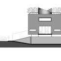 mirante do horto house / flavio castro elevation