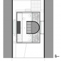 mirante do horto house / flavio castro second floor plan