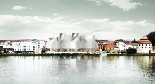 Maribor Art Gallery competition entry / Stan Allen Architect