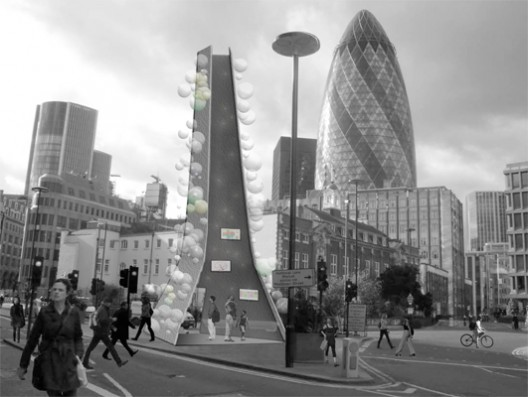A New Landmark for Aldgate International Competition submission by Sean Gair