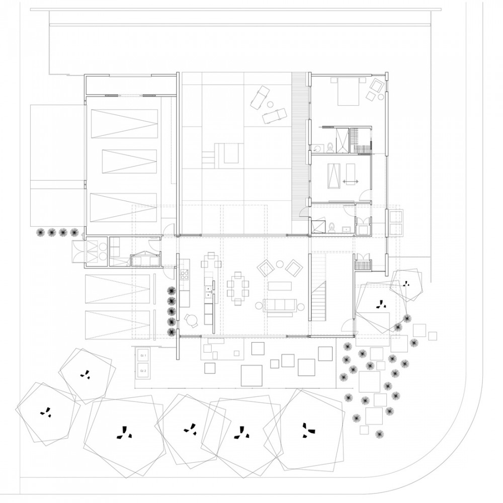 01 Chen + Suchart Studio LLC - Sosnowski Res Plan Lower plan