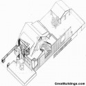 Gehry_House_Axon Axonometric