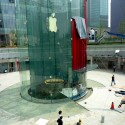Apple Store Shanghai  by Bohlin Cywinski Jackson  Flickr user Lesh51
