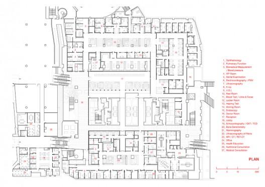 Kangbuk Samsung Hospital / Hyunjoon Yoo Architects  design(dot)fr