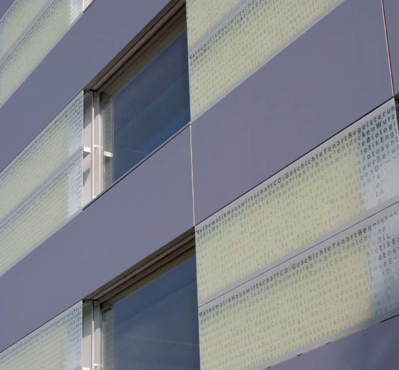 QuadroClad™ Glass Façade Panels / Hunter Douglas Contract